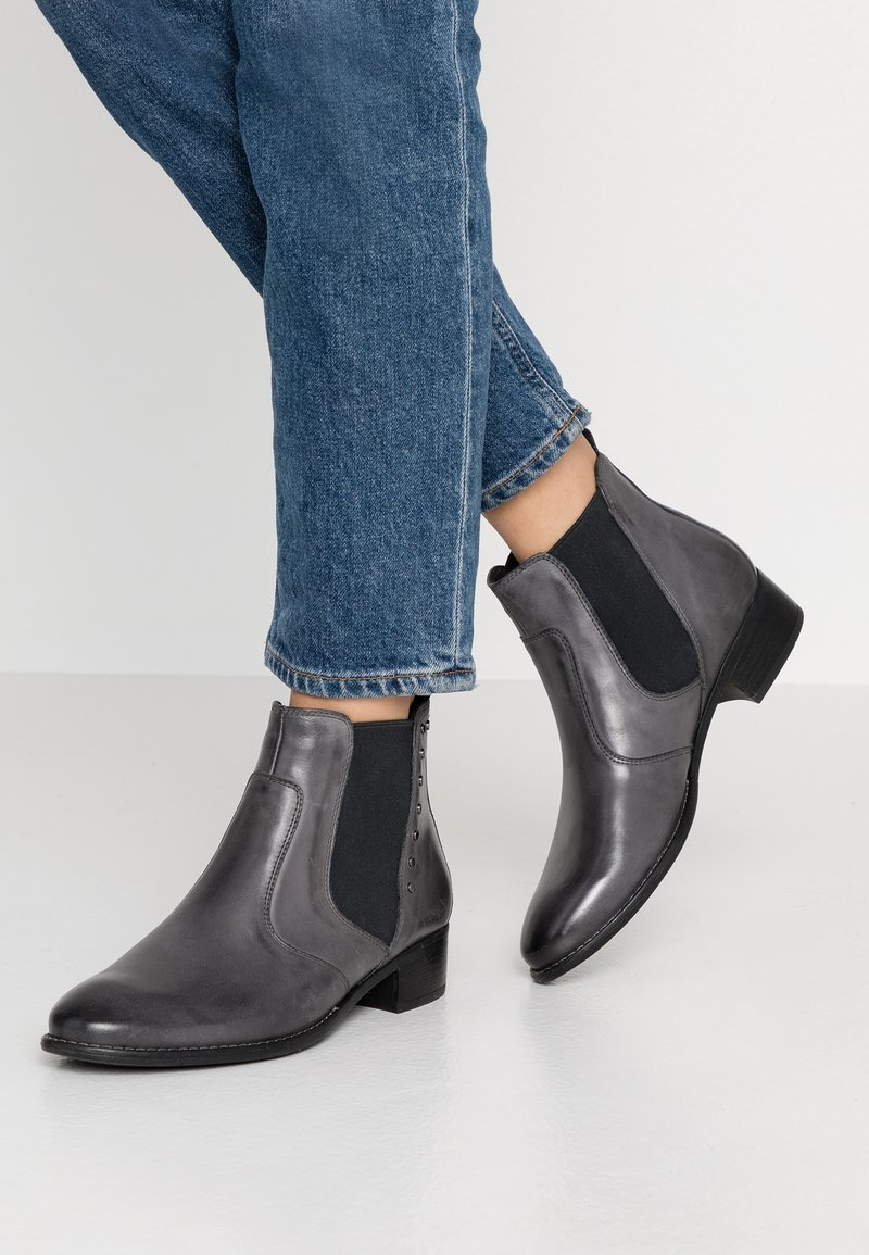 Pier One - Ankle boots - grey