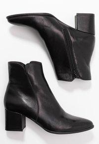 Pier One - Kotníková obuv - black - 3