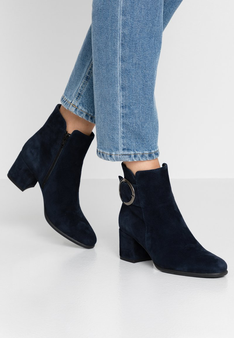 Pier One - Classic ankle boots - dark blue