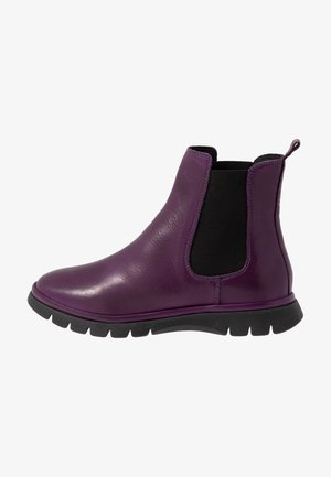 Classic ankle boots - purple