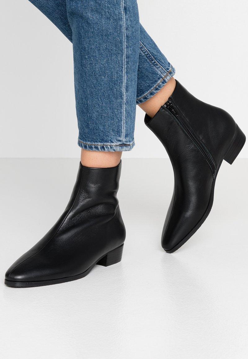 Pier One - Korte laarzen - black