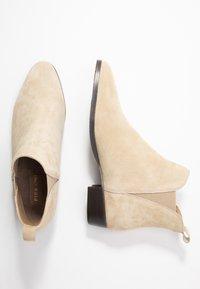 Pier One - Kotníková obuv - beige - 3