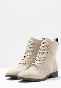 Pier One - Lace-up ankle boots - beige - 4