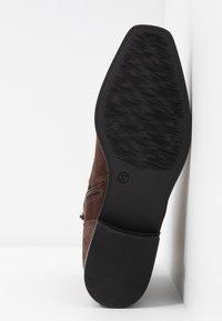 Pier One - Šněrovací kotníkové boty - brown - 6