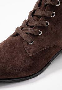 Pier One - Šněrovací kotníkové boty - brown - 2