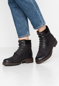 Pier One - Zimní obuv - black - 0