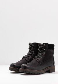 Pier One - Zimní obuv - black - 4