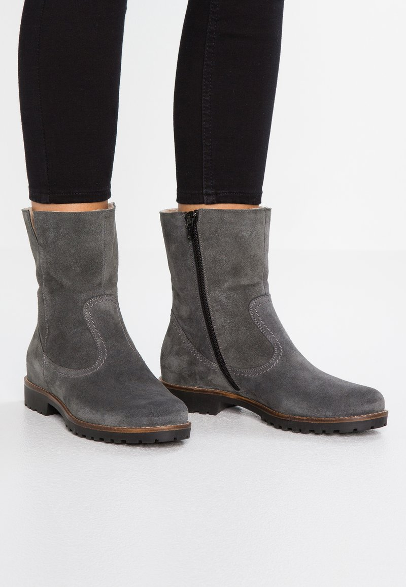 Pier One - Classic ankle boots - dark grey