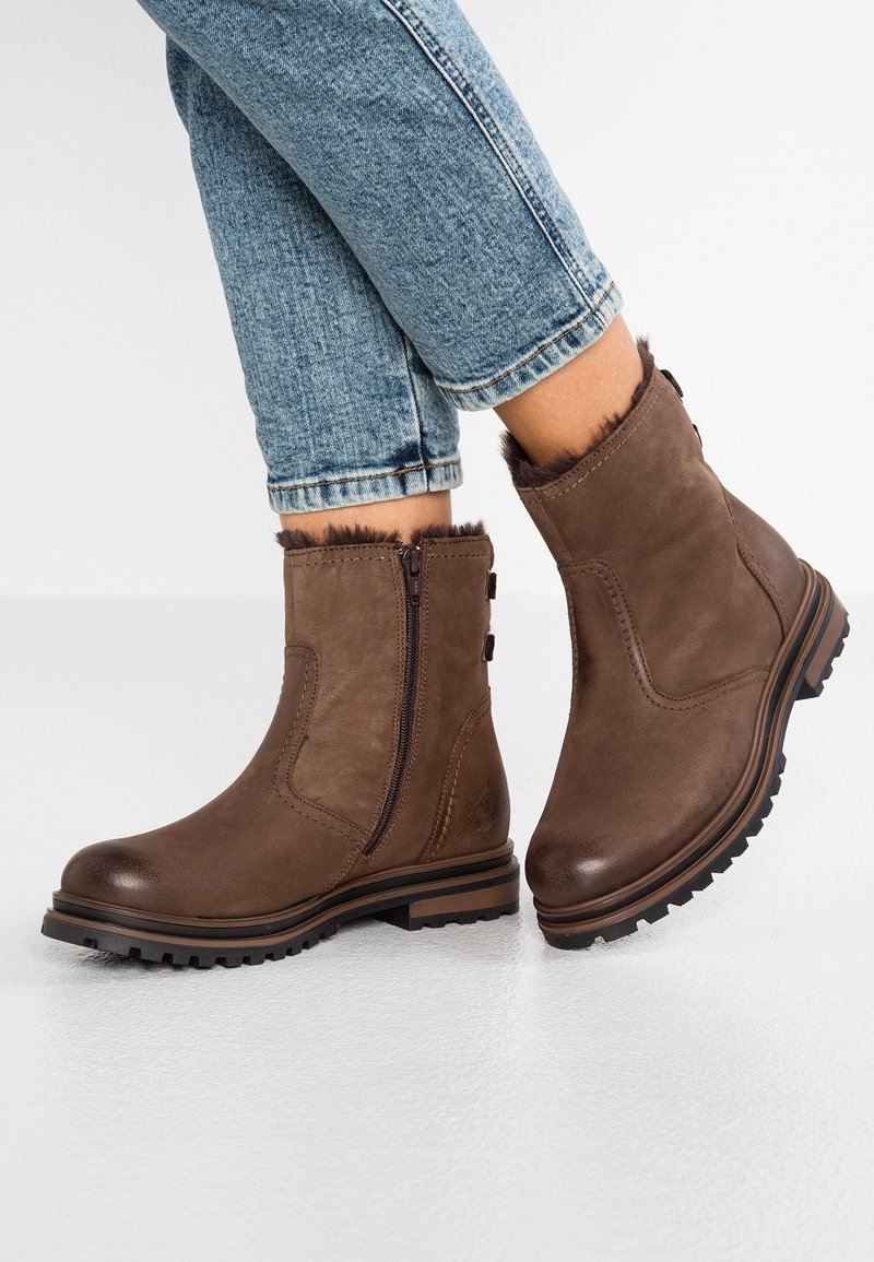 Pier One - Snowboot/Winterstiefel - dark brown