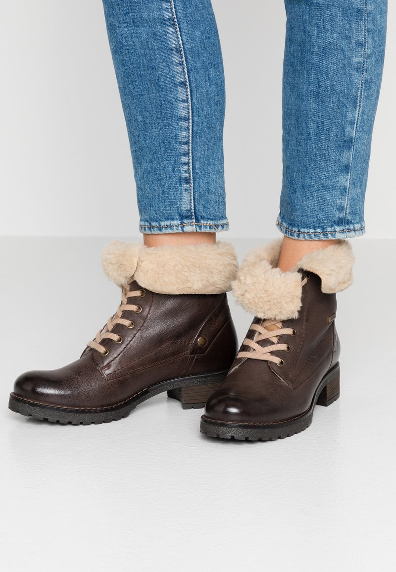 Pier One - Lace-up ankle boots - dark brown