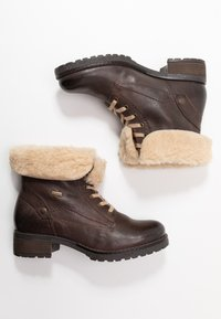 Pier One - Lace-up ankle boots - dark brown - 3