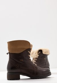 Pier One - Lace-up ankle boots - dark brown - 7