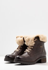 Pier One - Lace-up ankle boots - dark brown - 4