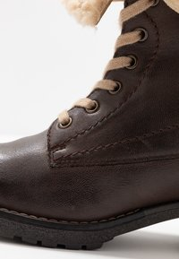 Pier One - Lace-up ankle boots - dark brown - 2