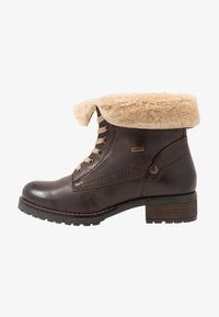 Pier One - Lace-up ankle boots - dark brown - 1