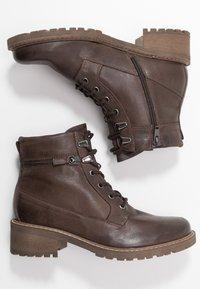 Pier One - Ankle boots - dark brown - 3