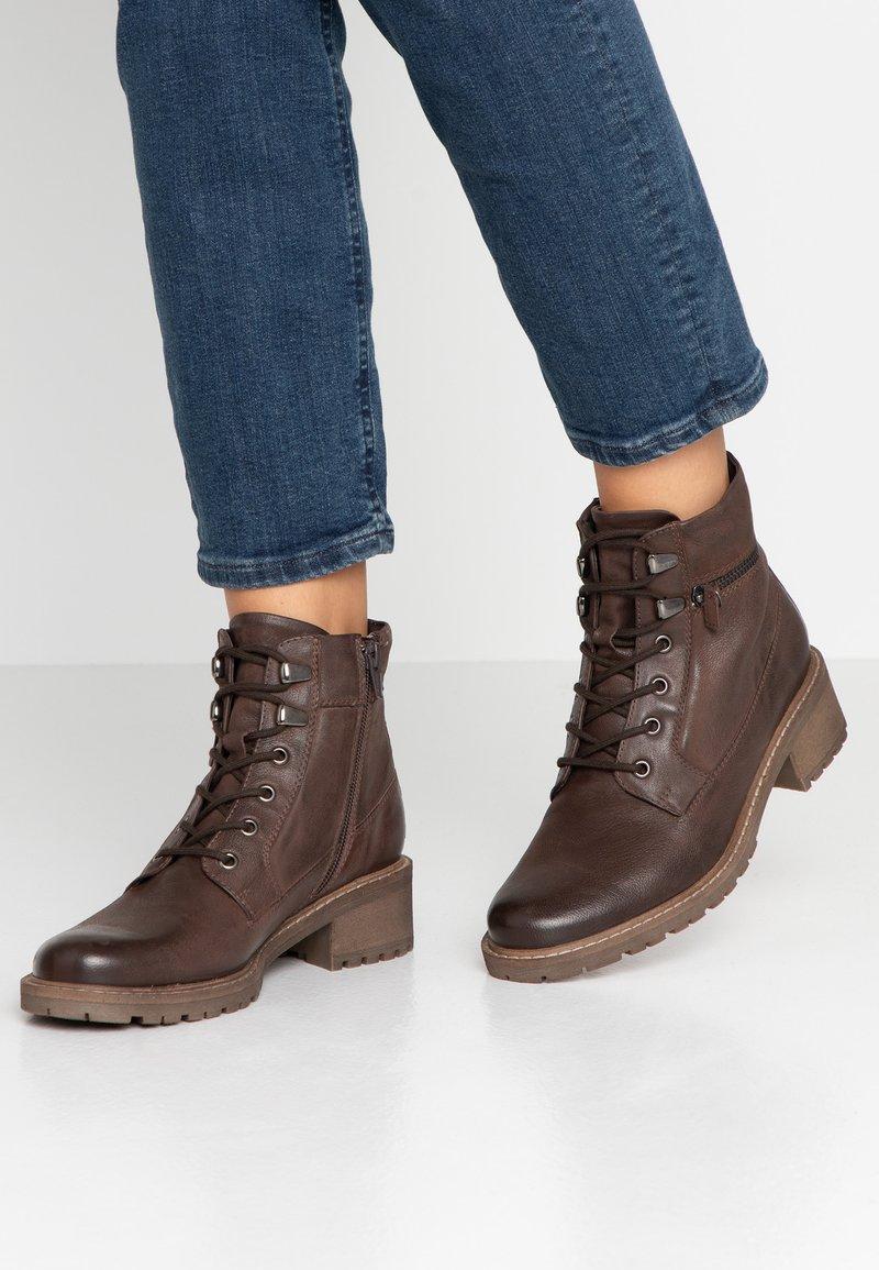 Pier One - Ankle boots - dark brown