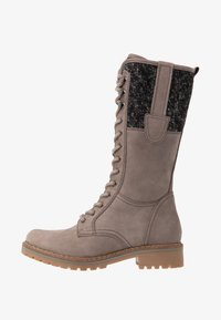Pier One - Lace-up boots - grey - 1