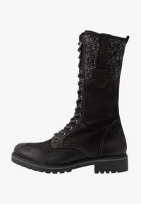 Pier One - Lace-up boots - black - 0