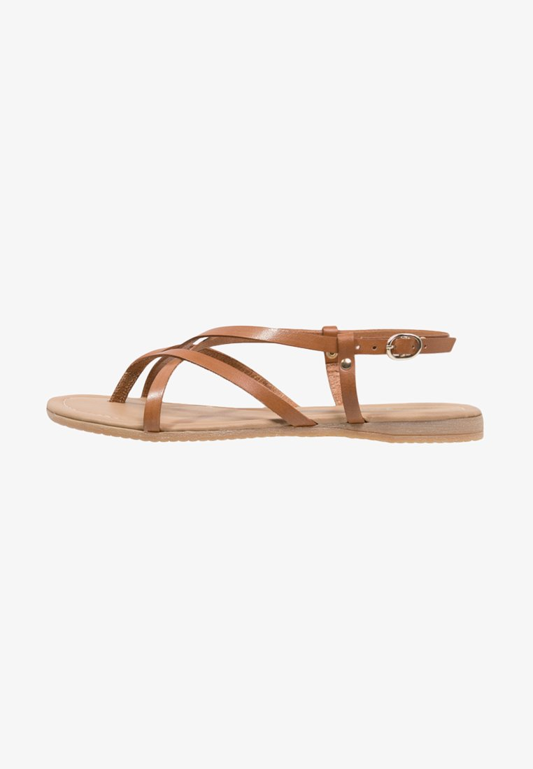 Pier One - T-bar sandals - brown