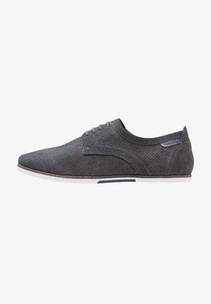 Volnočasové šněrovací boty - noir grey