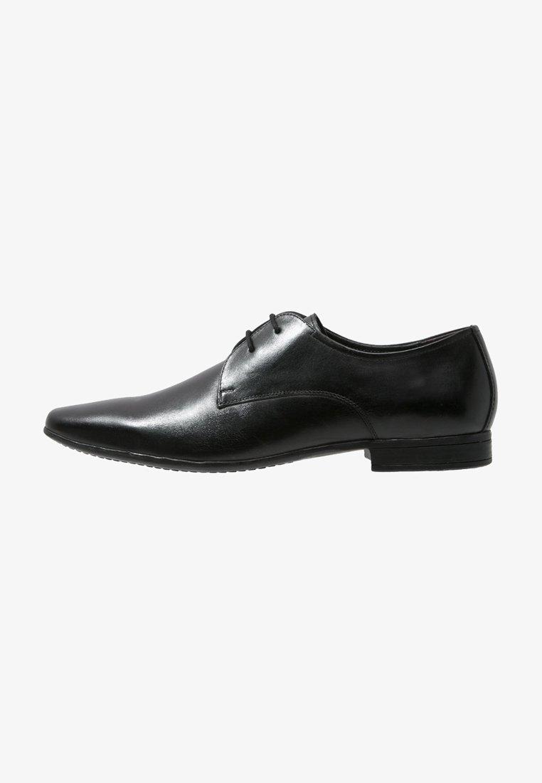 Pier One - Klassiset nauhakengät - black