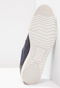 Pier One - Volnočasové šněrovací boty - navy - 4
