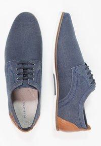 Pier One - Chaussures à lacets - dark blue - 1