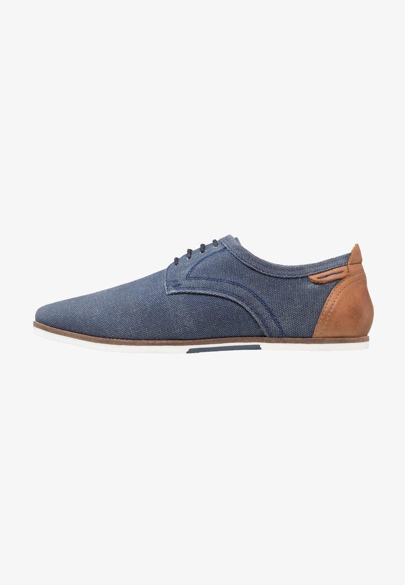 Pier One - Chaussures à lacets - dark blue