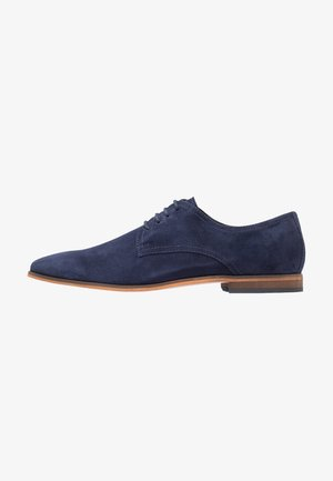 Smart lace-ups - navy
