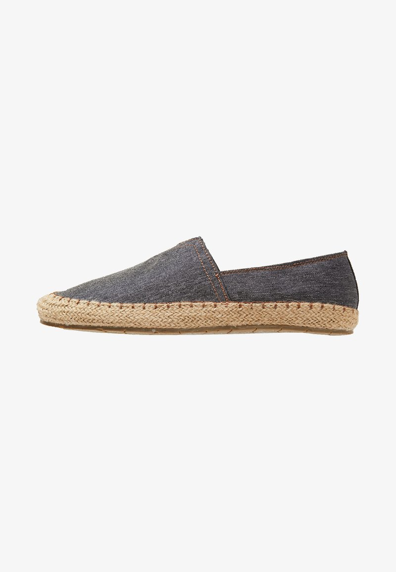 Pier One - Espadrille - dark blue