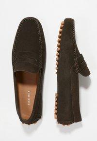 Pier One - Nazouvací boty - dark brown - 1