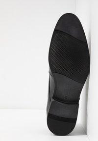 Pier One - Elegantní nazouvací boty - black - 4