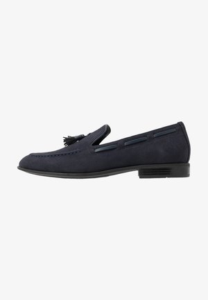 Business loafers - blue