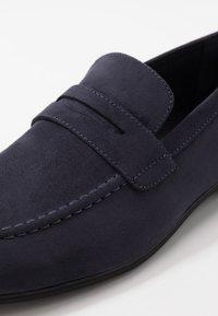 Pier One - Elegantní nazouvací boty - dark blue - 5