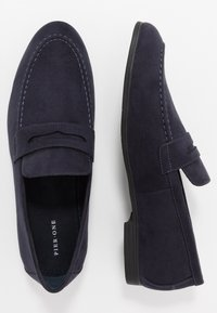 Pier One - Elegantní nazouvací boty - dark blue - 1