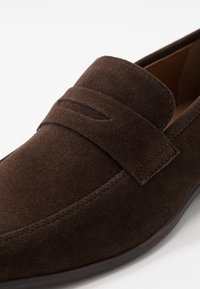 Pier One - Smart slip-ons - dark brown - 5