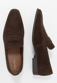 Pier One - Smart slip-ons - dark brown - 1