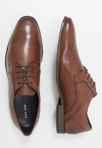 Pier One - Smart lace-ups - brown - 1