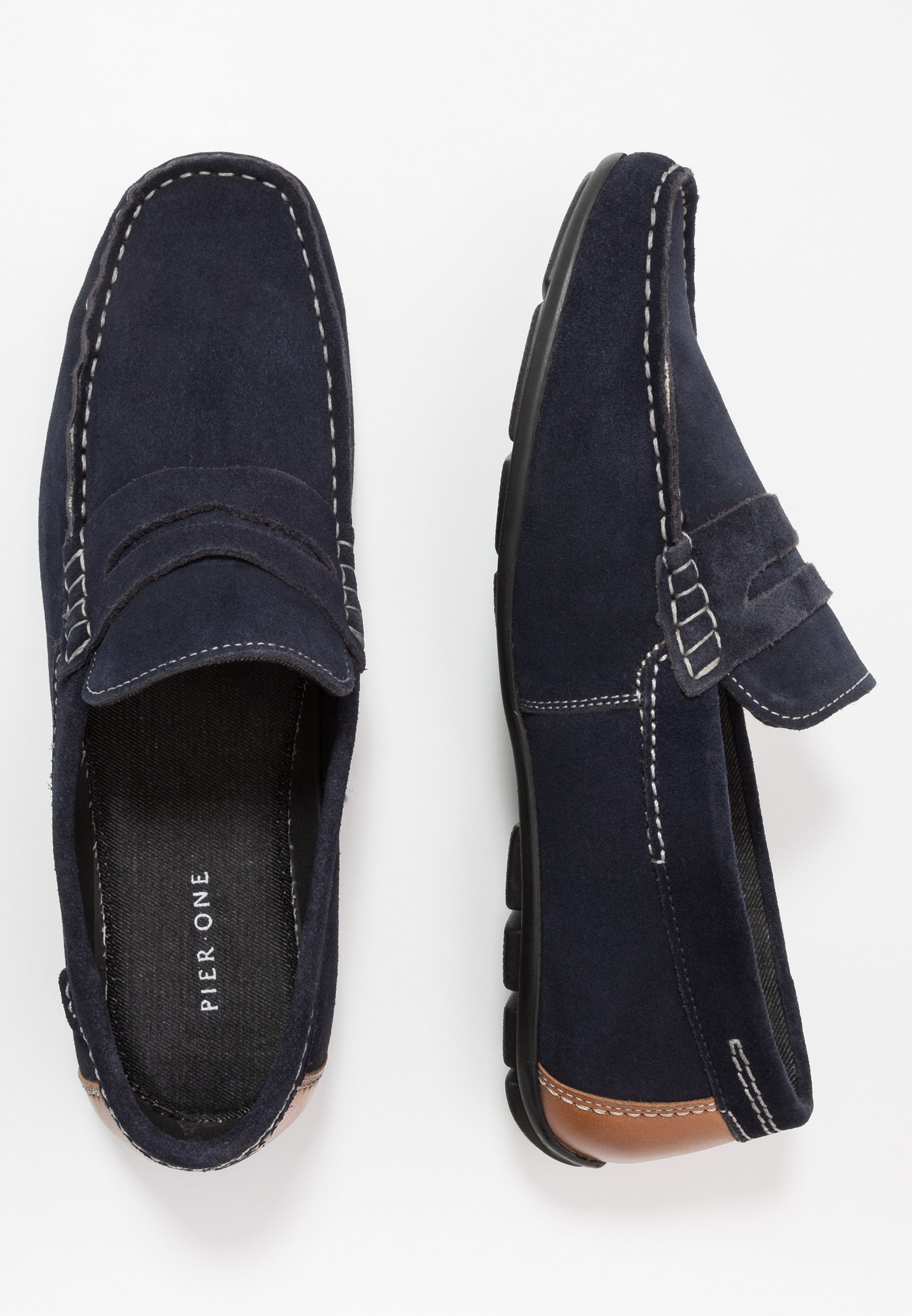Pier One Mocassins - dark blue