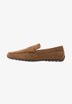 Loafers - cognac
