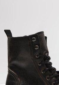 Pier One - Lace-up ankle boots - black barro - 5