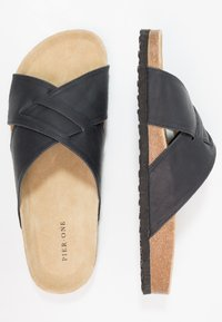 Pier One - Domácí obuv - black - 1