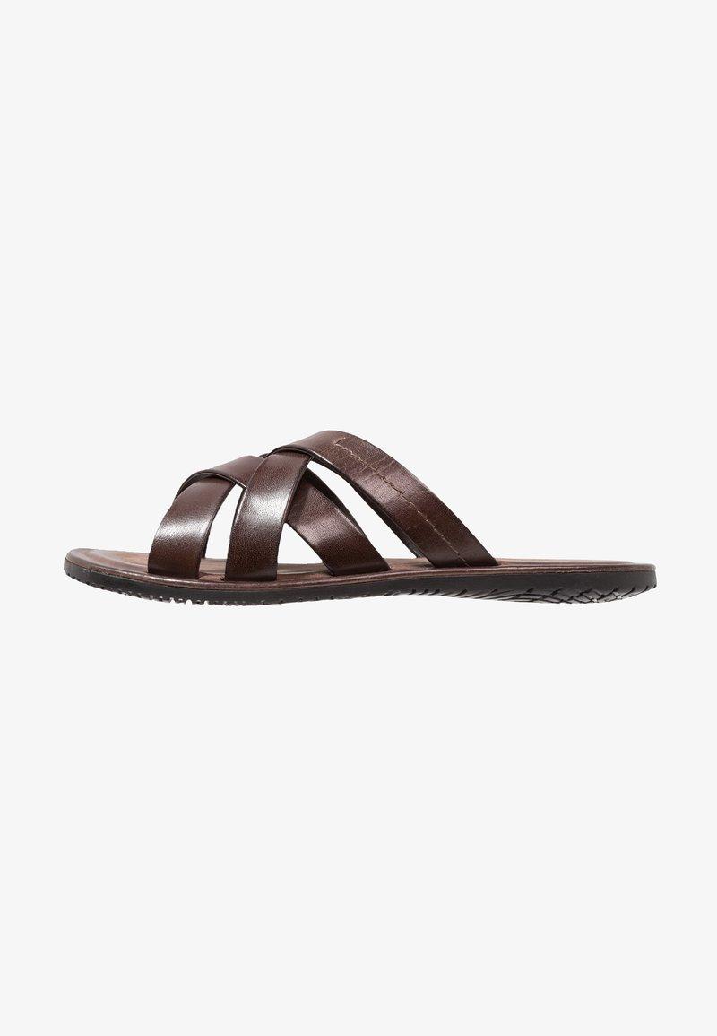Pier One - Pantolette flach - dark brown