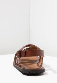 Pier One - Sandals - cognac - 3