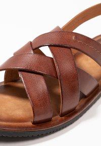 Pier One - Sandals - cognac - 5