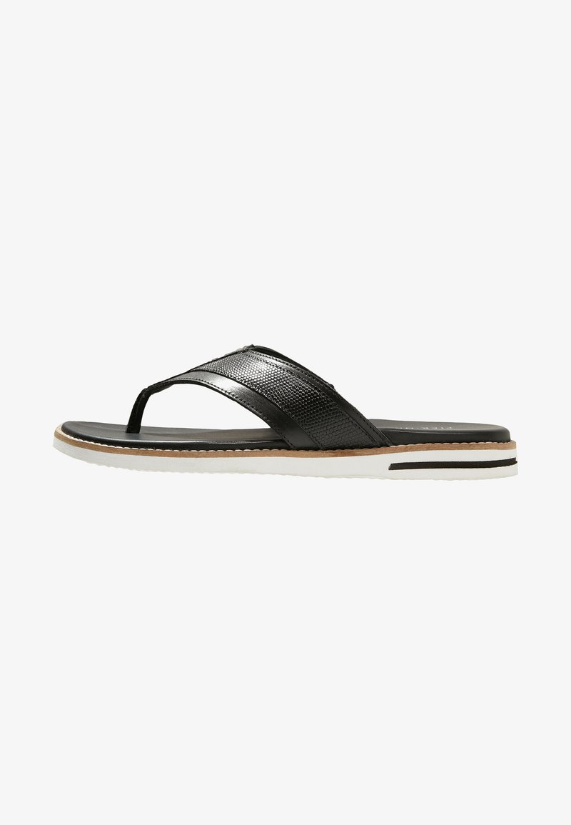 Pier One - T-bar sandals - black