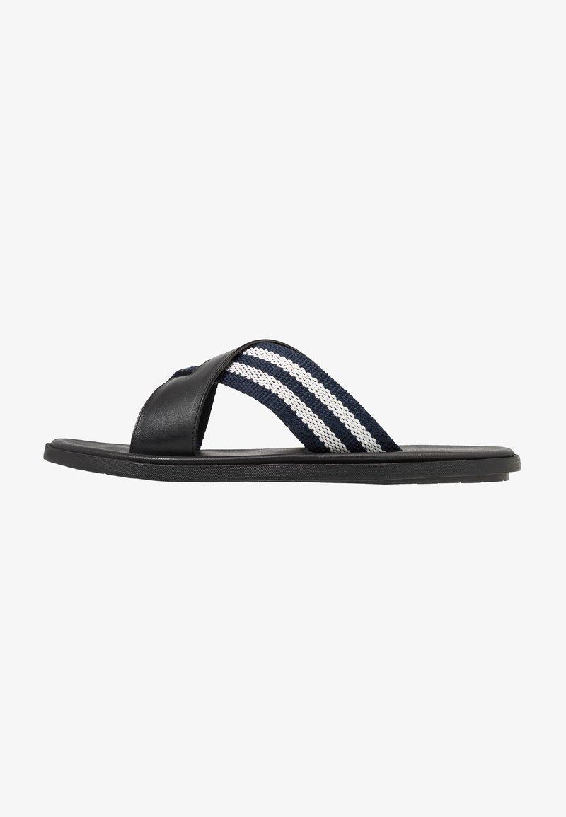 Pier One - Pantolette flach - black
