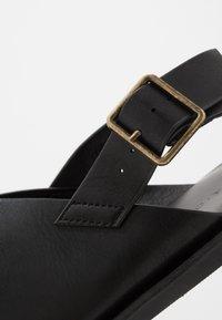 Pier One - Sandals - black - 5