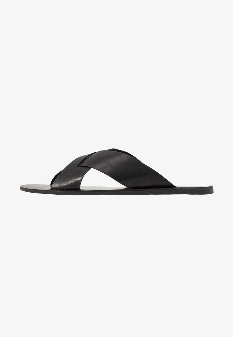 Pier One - Pantofle - black